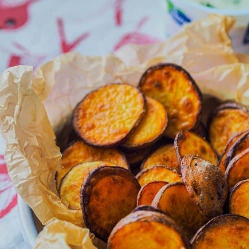 Crispy oven potatoes recipe
