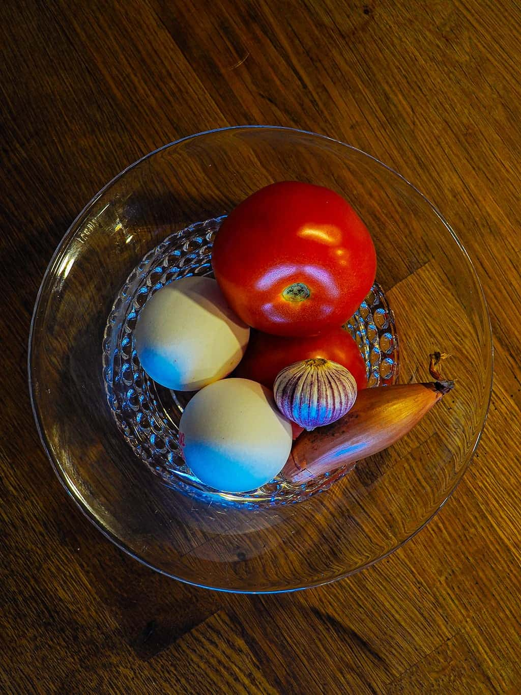 Super easy tomato and egg recipe ingredients