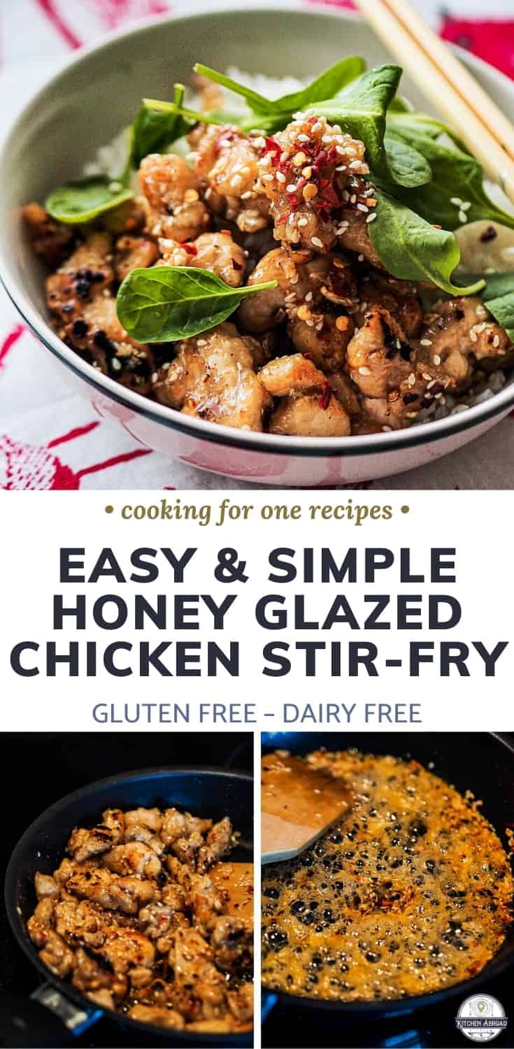 Looking for yummy chicken recipes? This crispy and delicious fried chicken have gluten free breading glazed with garlic honey sauce. Try this now or pin it for later! #cookingforone #chickenrecipes #dinnerideas #foodrecipes #appetizerideas #easyrecipe | chicken meals | recipes with chicken | chicken dishes | chicken breading | delicious chicken | easy chicken | fried chicken | Gluten free dinner | Dairy free dinners