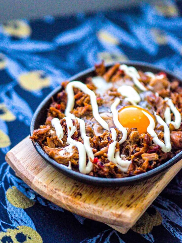 Filipino Style Cheap And Easy Sizzling Tuna Sisig Recipe The Kitchen Abroad