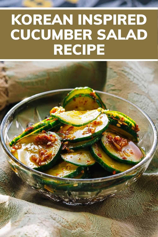Asian Cucumber Salad Recipe PINTEREST