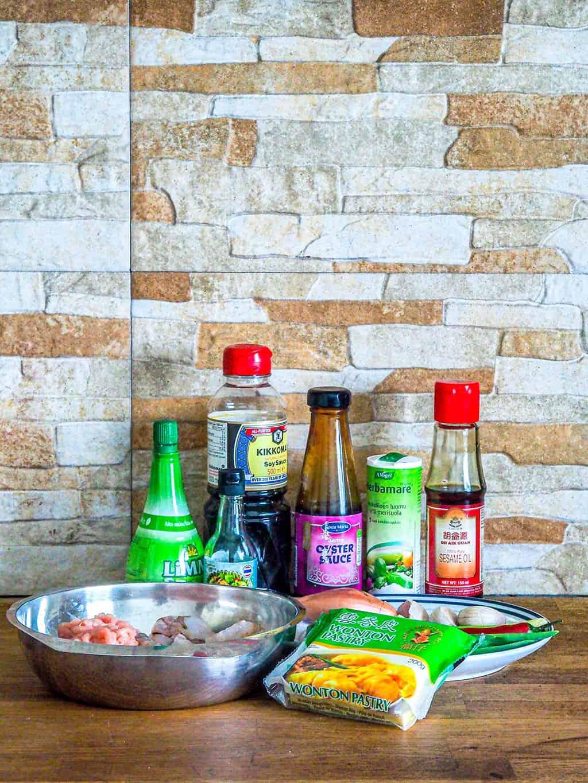 Easy Chicken and Shrimp Dumplings Recipe INGREDIENTS