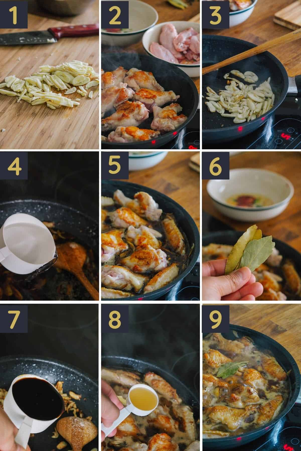 Classic Chicken Adobo Recipe STEP BY STEP GUIDE