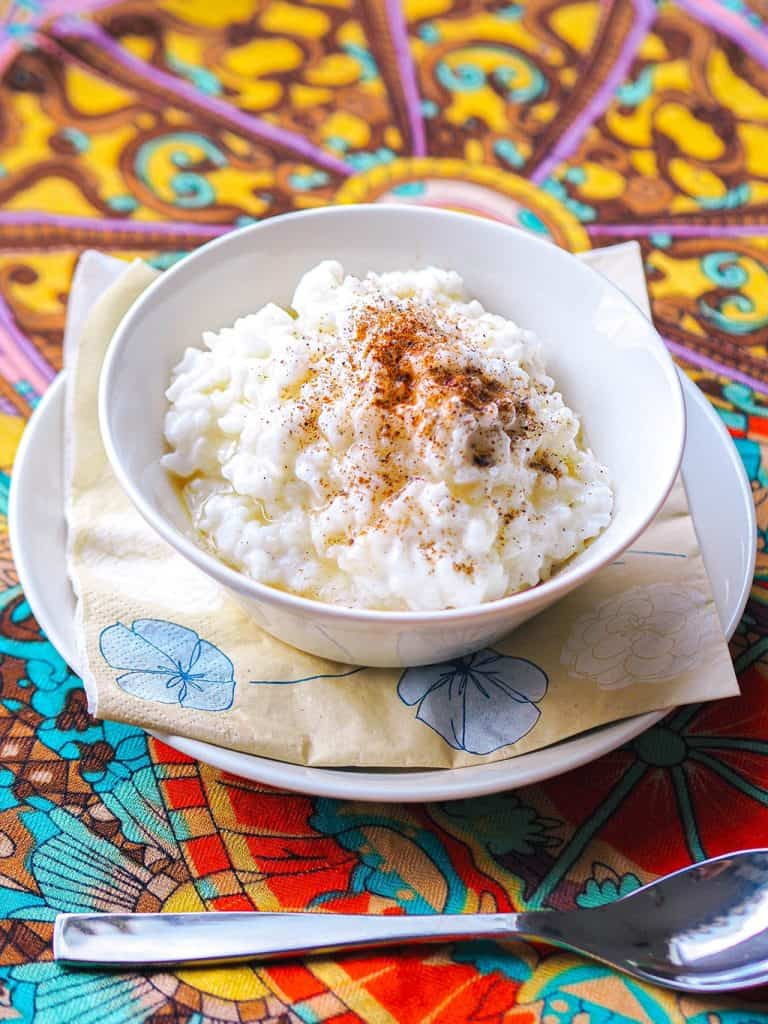 Coconut Dairy Free Rice Pudding FINAL PRODUCT