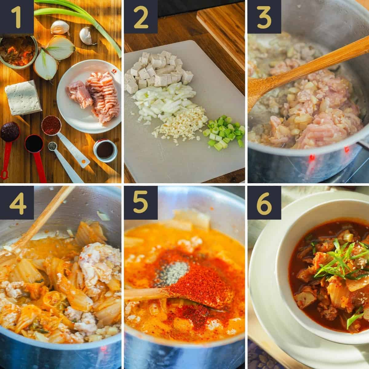 Kimchi Stew Recipe with Chicken STEP BY STEP GUIDE