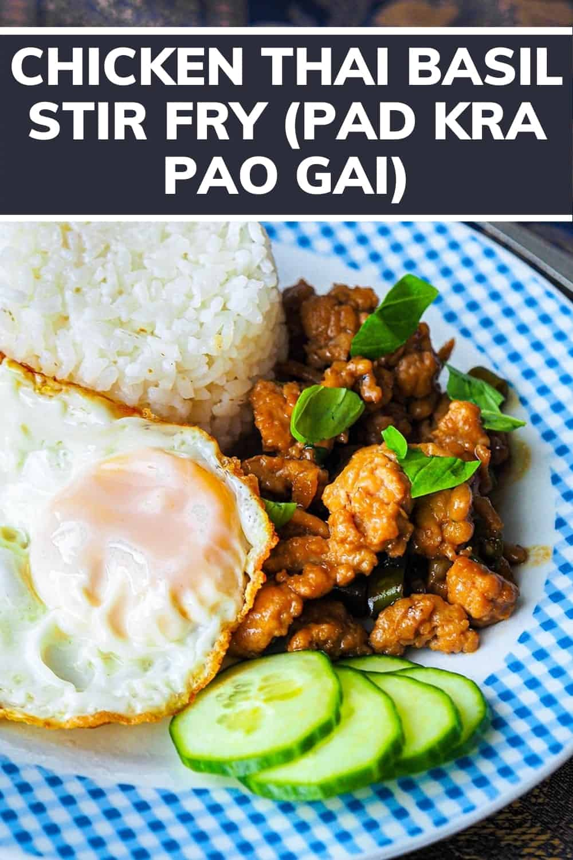 Pad Kra Pao Recipe Chicken Thai Basil Stir Fry PINTEREST